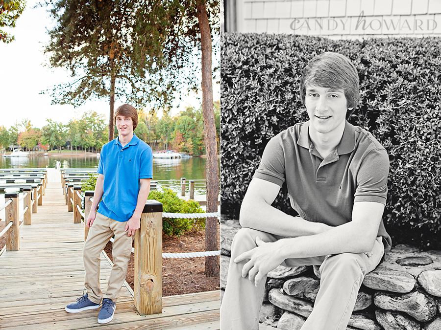 Lake Normon Senior Portraits