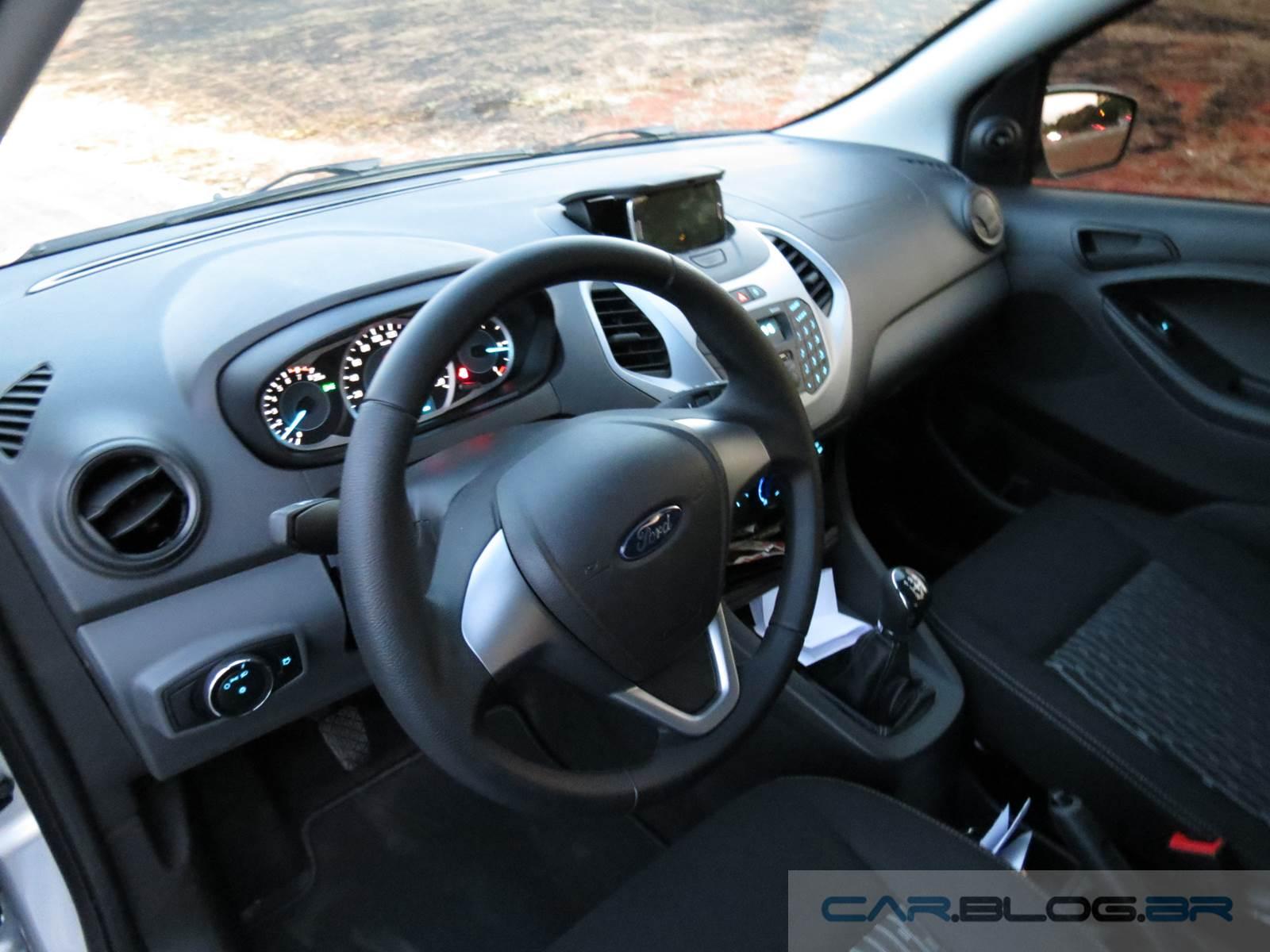 Ford Ka SE 1.0 2016 - interior