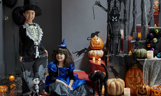 mamasVIB | V. I. BUYS: Halloween Style from the Supermarket, sainsburys, halloween, dressing up, kids fancy dress