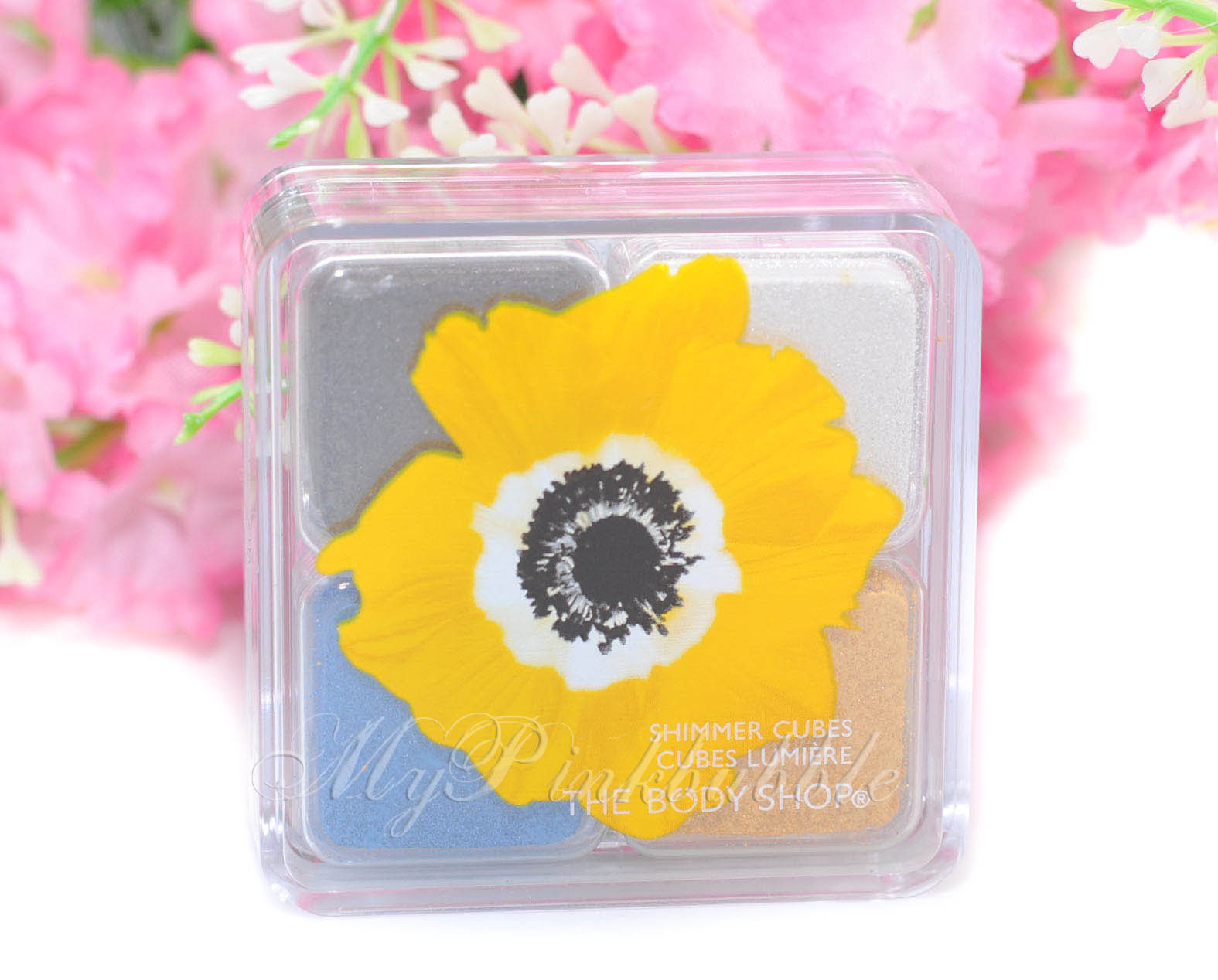 Body shop  cubes Yellow poppy
