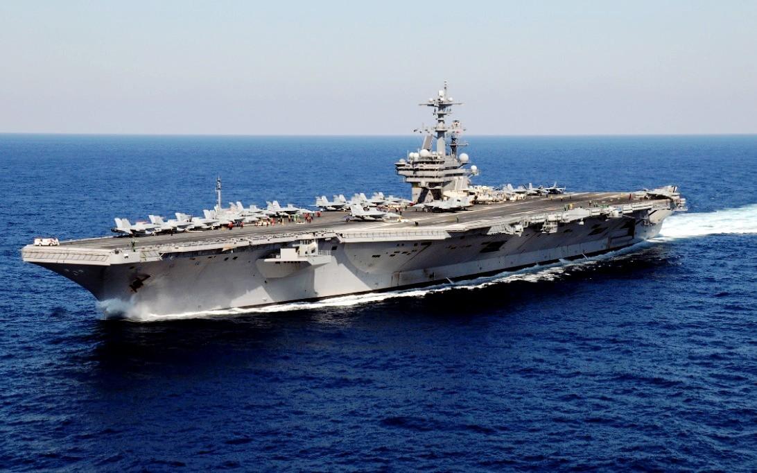 Clicswallpaper USS George HW Bush CVN 77 Wallpaper 1