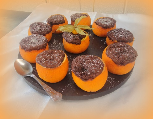 how to make a chocolate orange