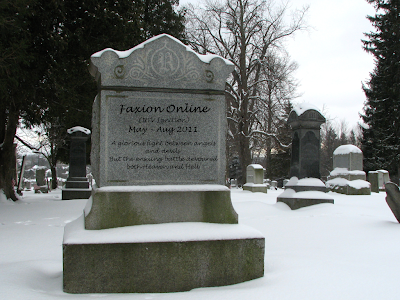 Faxion Online - Tombstone