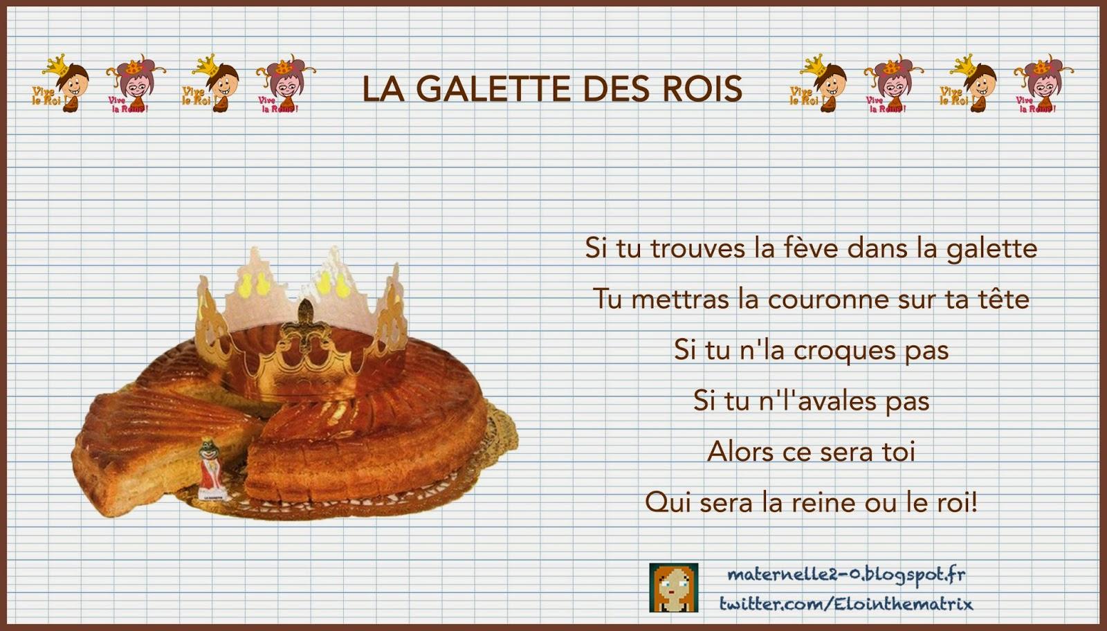 Maternelle 2 0 Video La Galette Des Rois