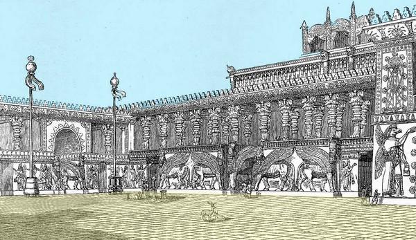 Asiria - Palacio de Sargón II en Dur-Sharrukin - Historia de las civilizaciones