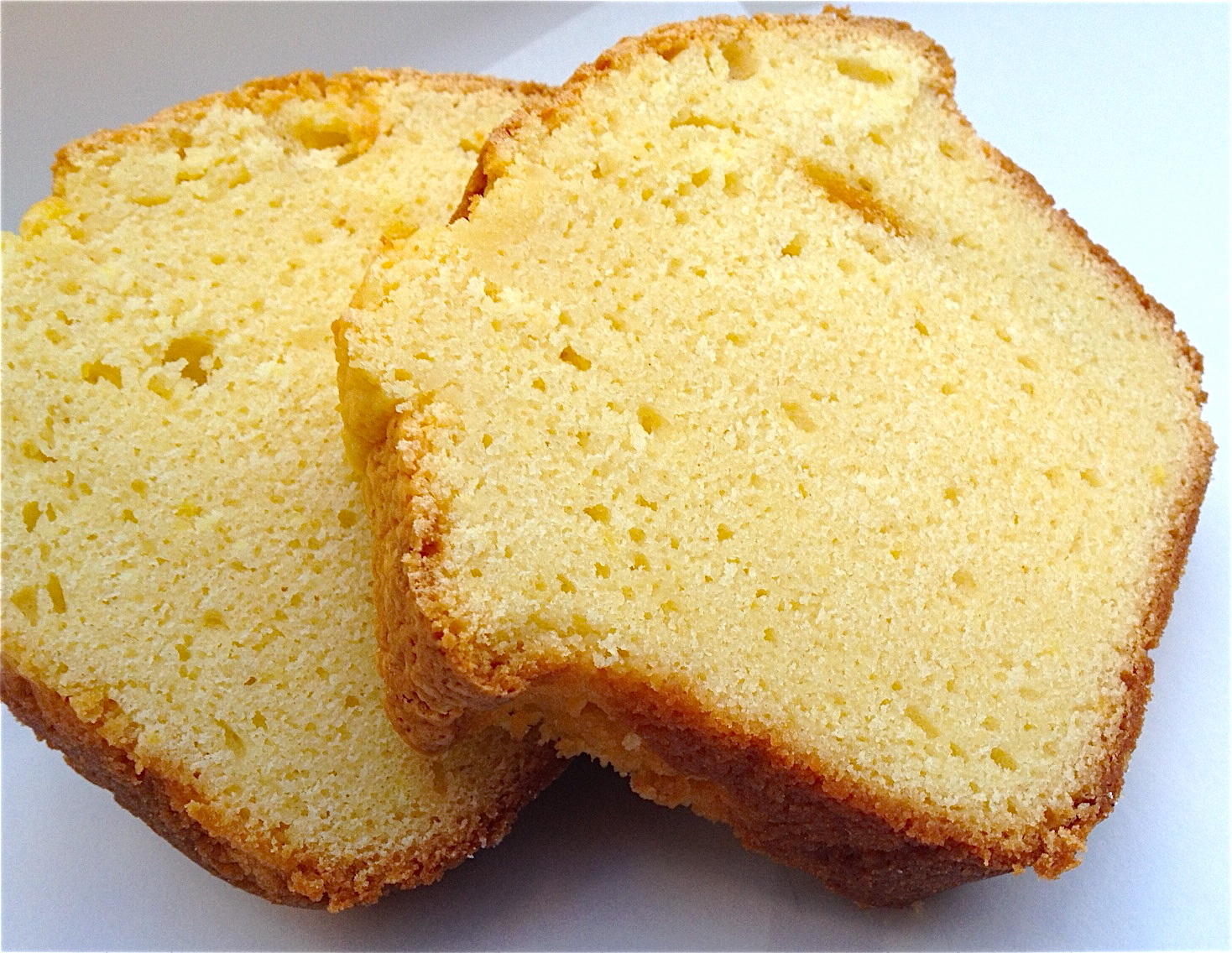 Sour Cream Pound Cake With Lemon Icing