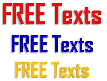 Free Text service
