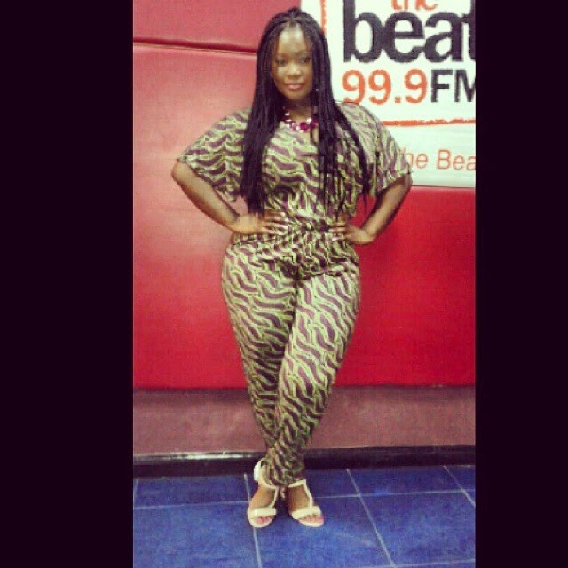 Toolz wows in Print Jumpsuit