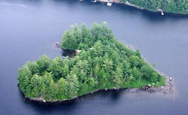 pulau blueberry, canada