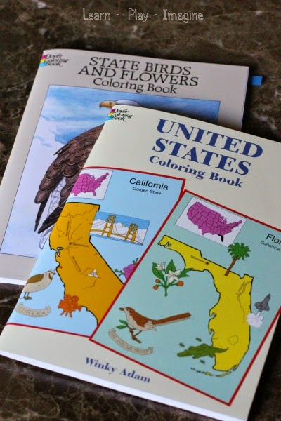 U.S. History coloring books