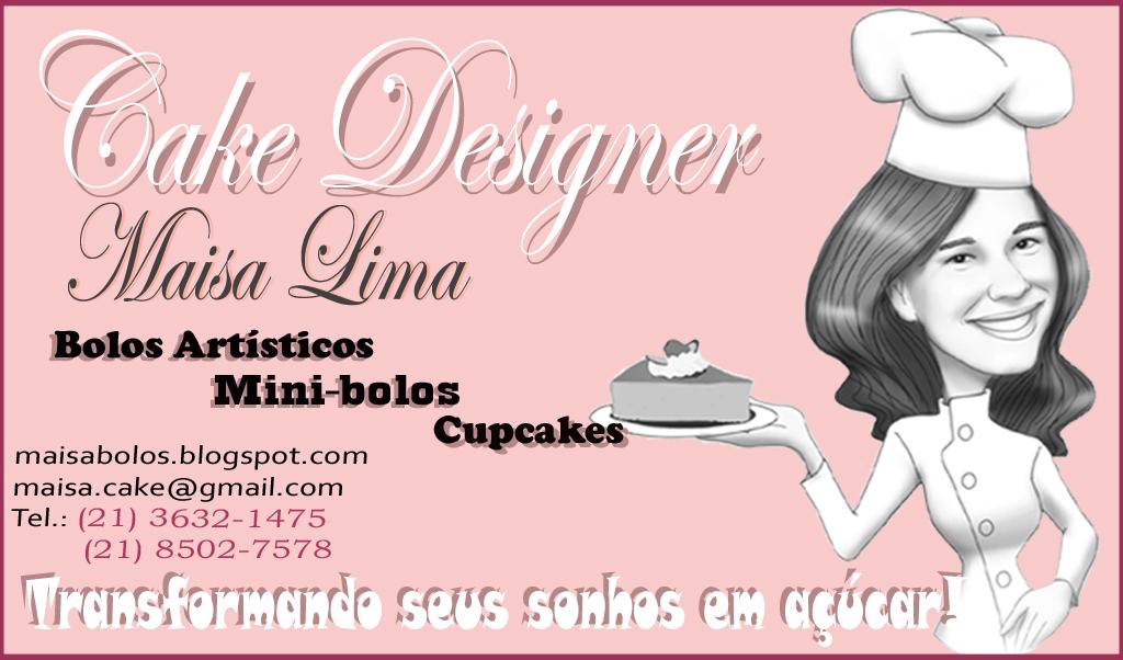 Amado Maisa Lima - Cake Designer: ' Finalmente, meu cartão de visita! :D SS46