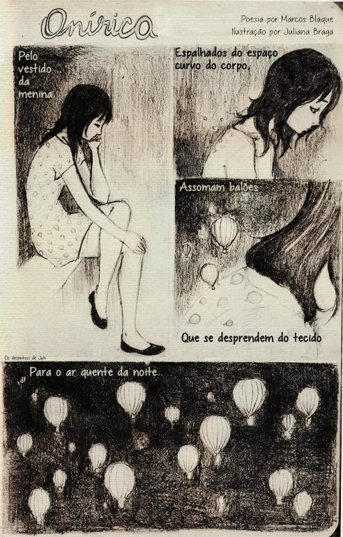 Marcos Blaque Juliana Braga Onírica há poesia