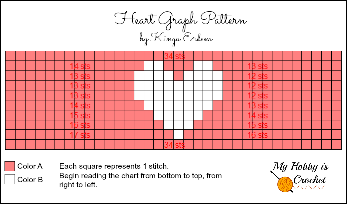 Crochet Patterns Graphs Free : My Hobby Is Crochet: Heart & Sole Slippers Women size ...