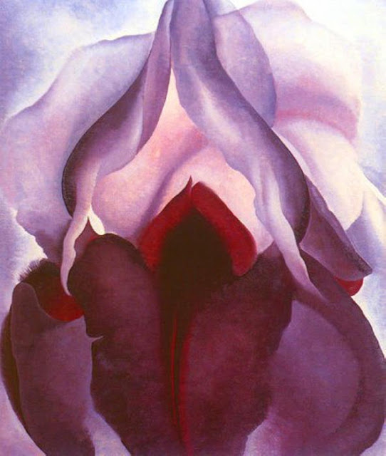 New York's Metropolitan Museum of Art MET o'keeffe flower art