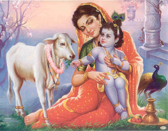 wallpaper of lord Krishna
