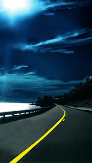 Nice way and beautiful weather iphone 5 HD wallpaper 2013