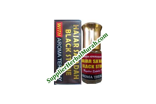 Hajar Sa'adah Black Stone With Aroma Teraphy
