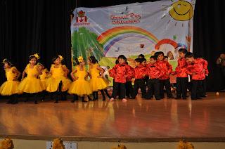 children participated in school annual day program