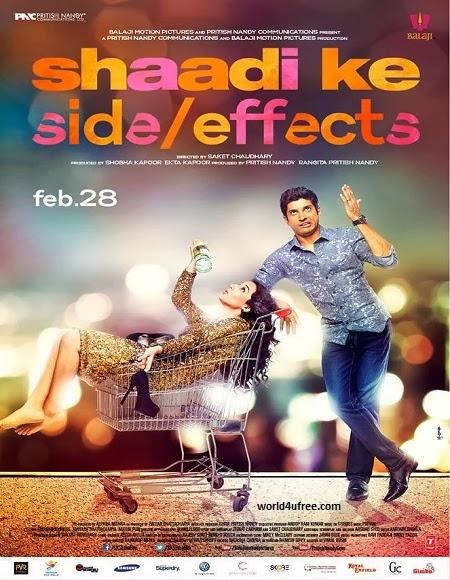 Shaadi Ke Side Effects 2014 DVDScr 700mb Audio Cleaned DDR