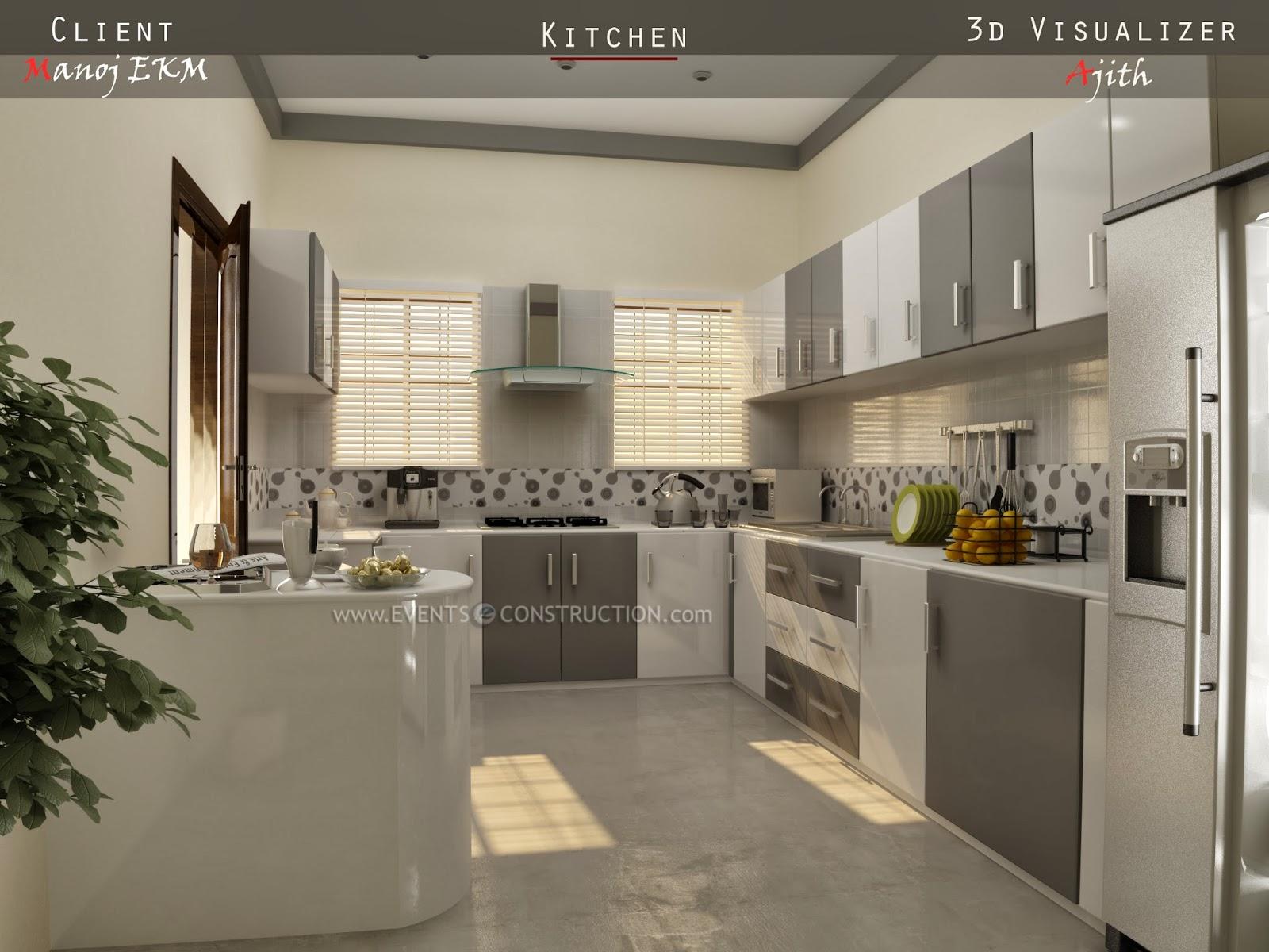 Evens construction pvt ltd kitchen interior design for Villa interior designers ltd nairobi kenya