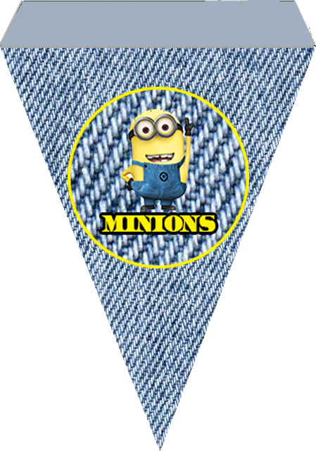 Free Printable Bunting of Minions.