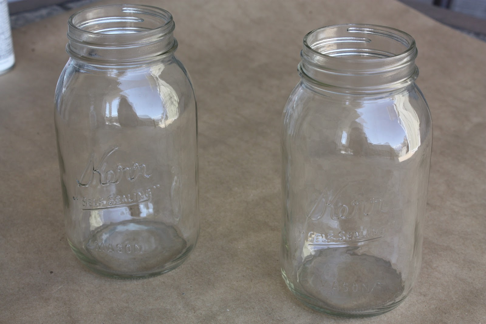 mason jars painted - photo #37