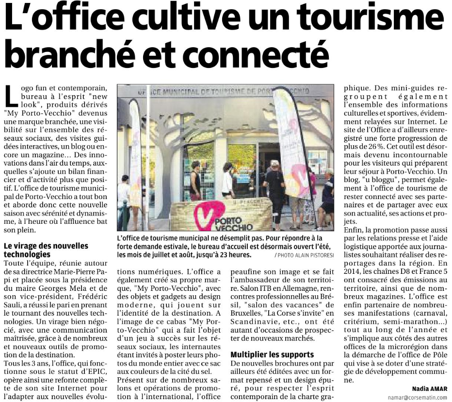 Uffiziu di u turisimu di portivechju l 39 office cultive un - Office de tourisme coudekerque branche ...