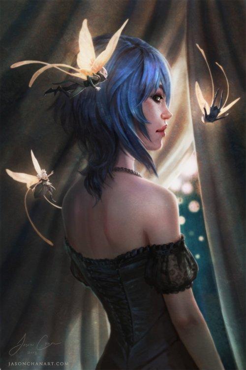 jason chan ilustrações arte conceitual fantasia demônios anjos dragões monstros