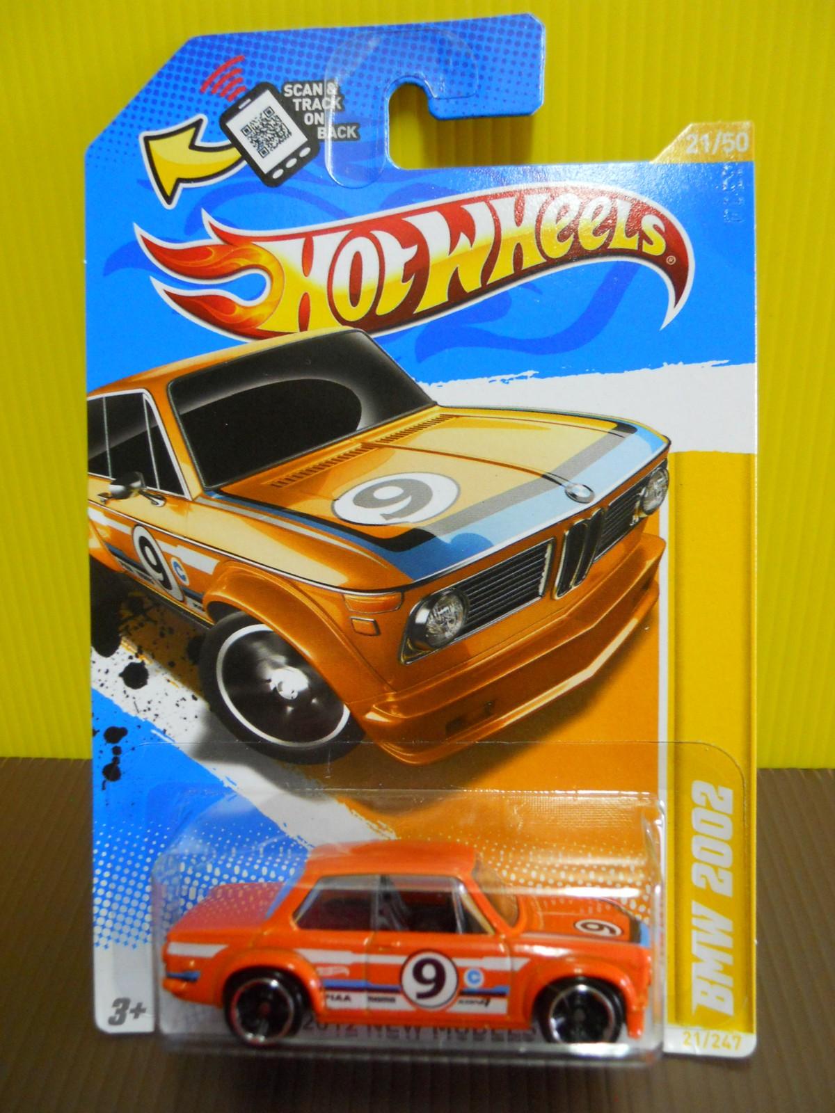 Dexters Diecasts Dexdc Hot Wheels 2012 21 Bmw 2002