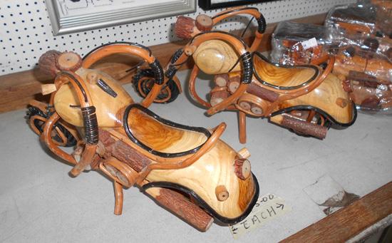 motosikal kayu