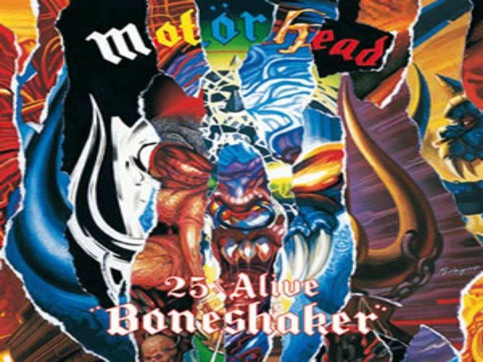 25 & Alive Boneshaker Álbum de Motörhead