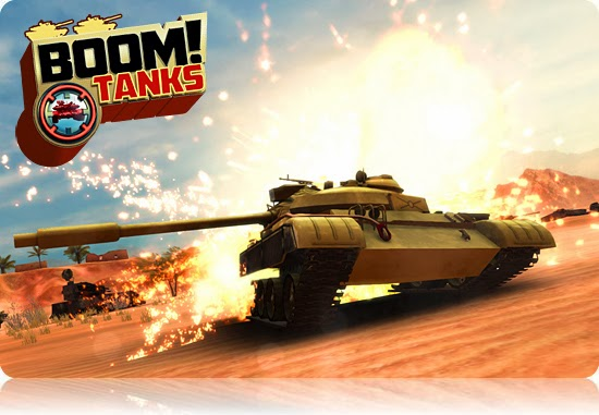 Boom! Tanks MOD APK+DATA