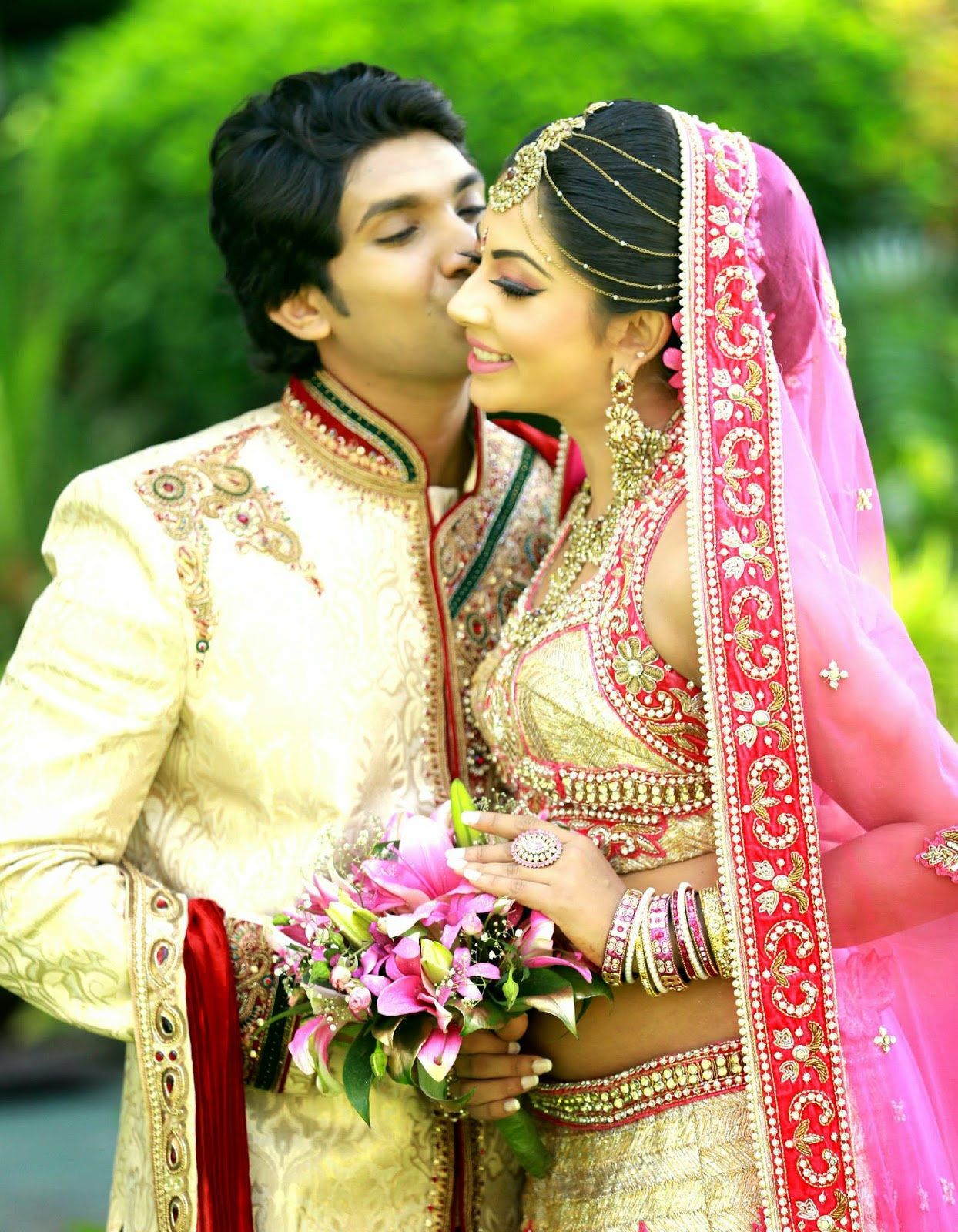 Dressed by Aruni Bridals