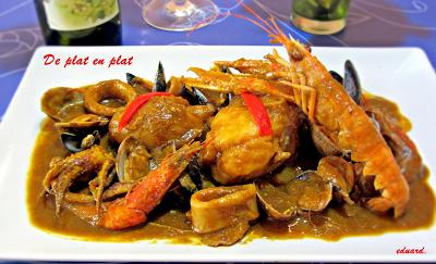 Zarzuela de pescado for Pescado chino