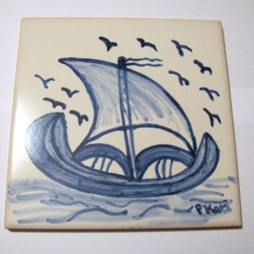 Anakarmo primeiros passos na pintura sobre azulejo - Pintar sobre azulejos ...
