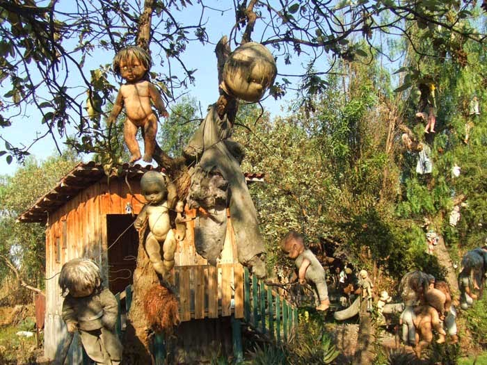Island of The Dolls in Mexico