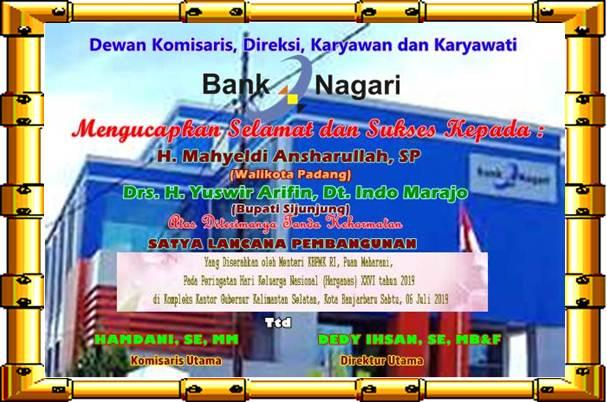 IKLAN BANK NAGARI