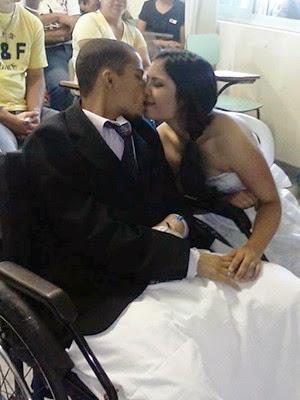 Me mandou casar e ter filhos, diz noiva de jovem que morreu de câncer