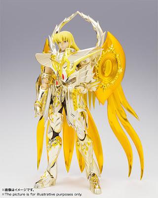 Shaka in versione Soul of Gold da Bandai