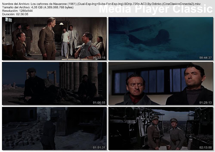 Imagenes de la pelicula: Los cañones de Navarone | 1961 | The Guns of Navarone