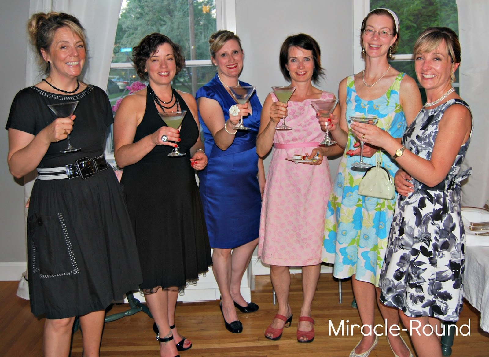 Life on the Miracle-Round: Cocktail Party - Mad Men Style