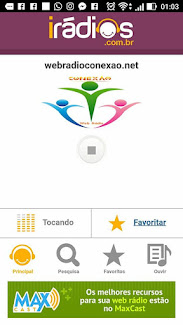 www.webradioconexao.net  curta no facebook https://www.facebook.com/emconexaocomomundo/