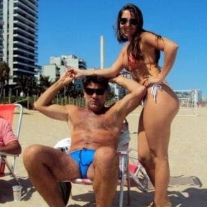 Renato Gaúcho troca de posição e vira zagueiro da filha Carol