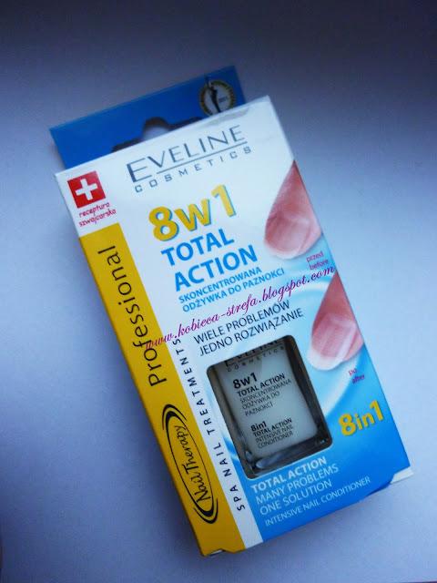 Eveline Cosmetics - skoncentrowana odżywka do paznokci 8w1