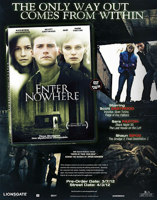 Watch Enter Nowhere 2011 Hollywood Movie Online | Enter Nowhere 2011 Hollywood Movie Poster