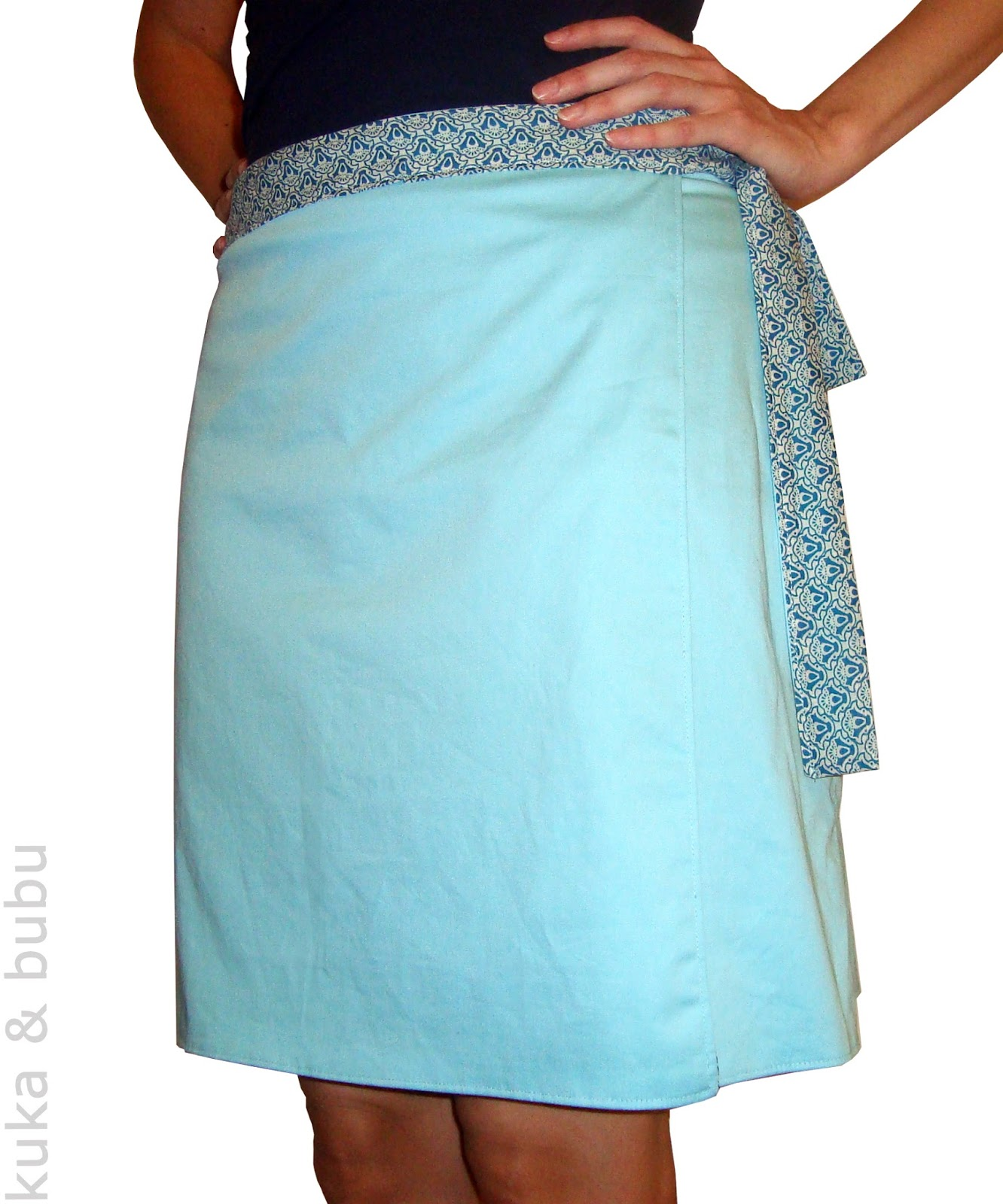 Scarf Skirt - Cut Out Keep - Make and share step by