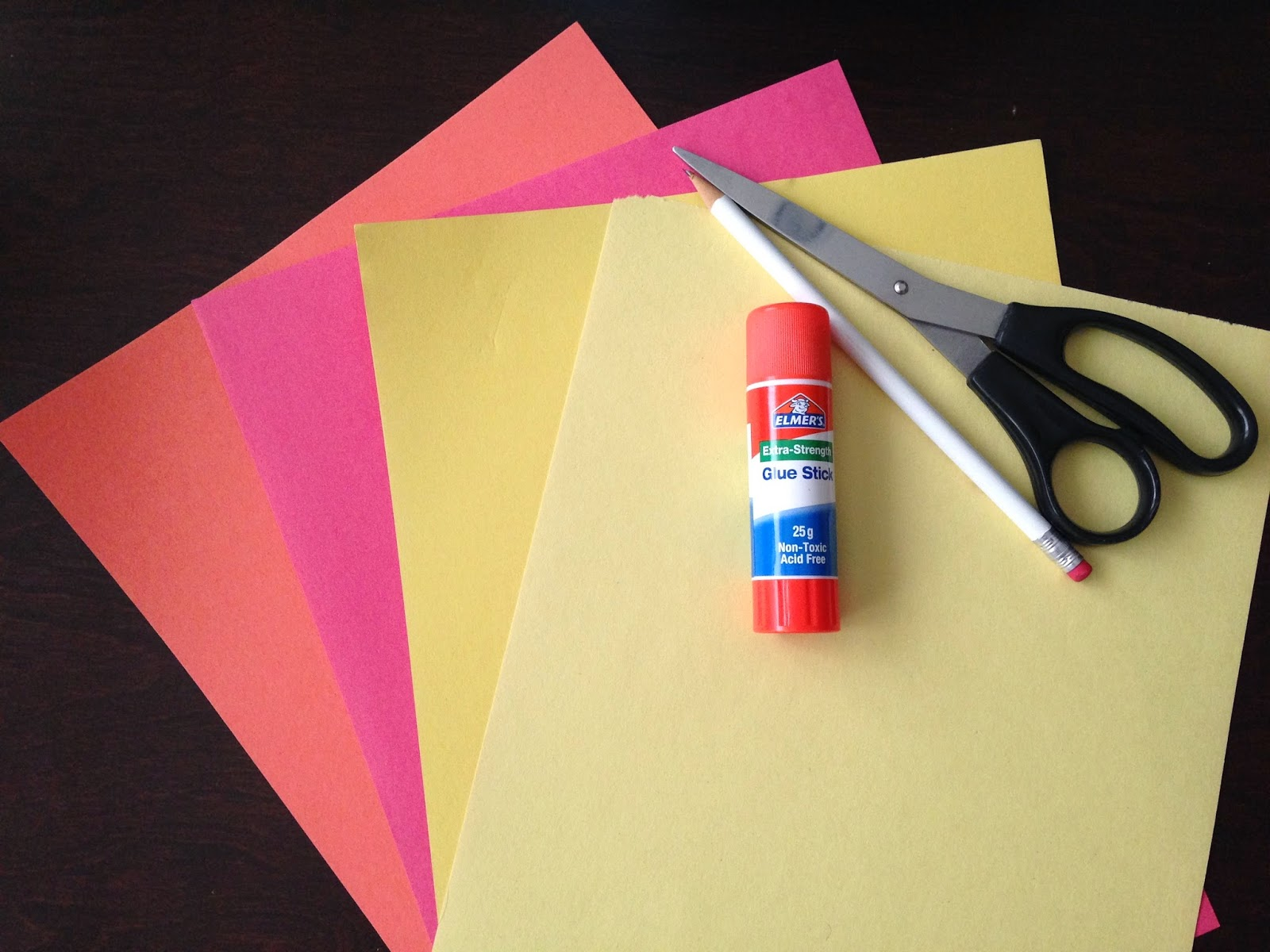 Frugal Allergy Mom DIY 5 Minute Valentines Card Ideas Lion – Construction Paper Valentine Cards