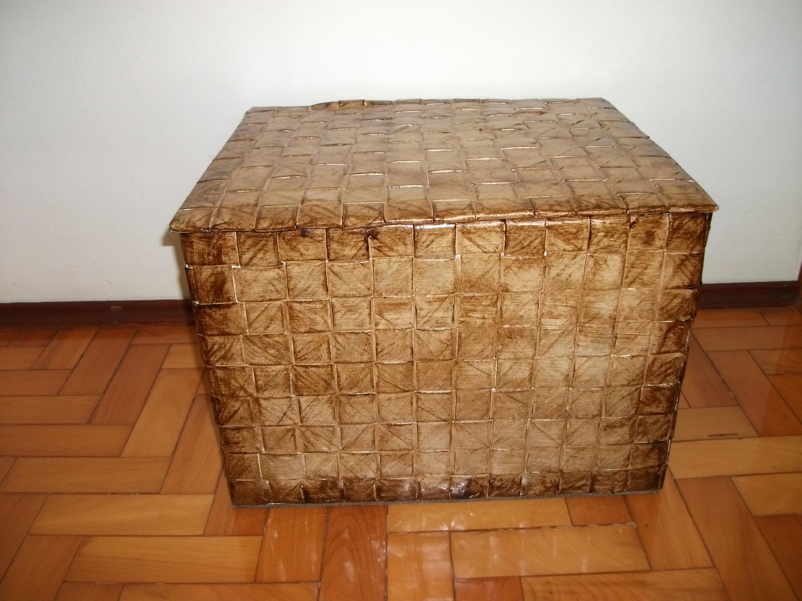 Artesanato Baiano ~ Rodrigo artesanato com jornal Caixas de papel u00e3o
