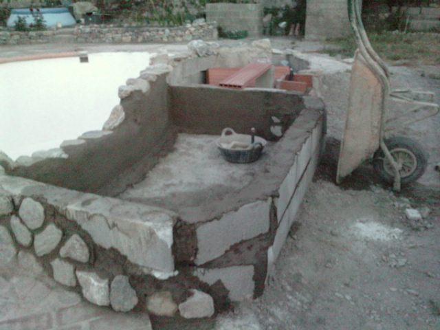 Los bricos de mi marido piscina hecha a mano for Hacer piscina casera