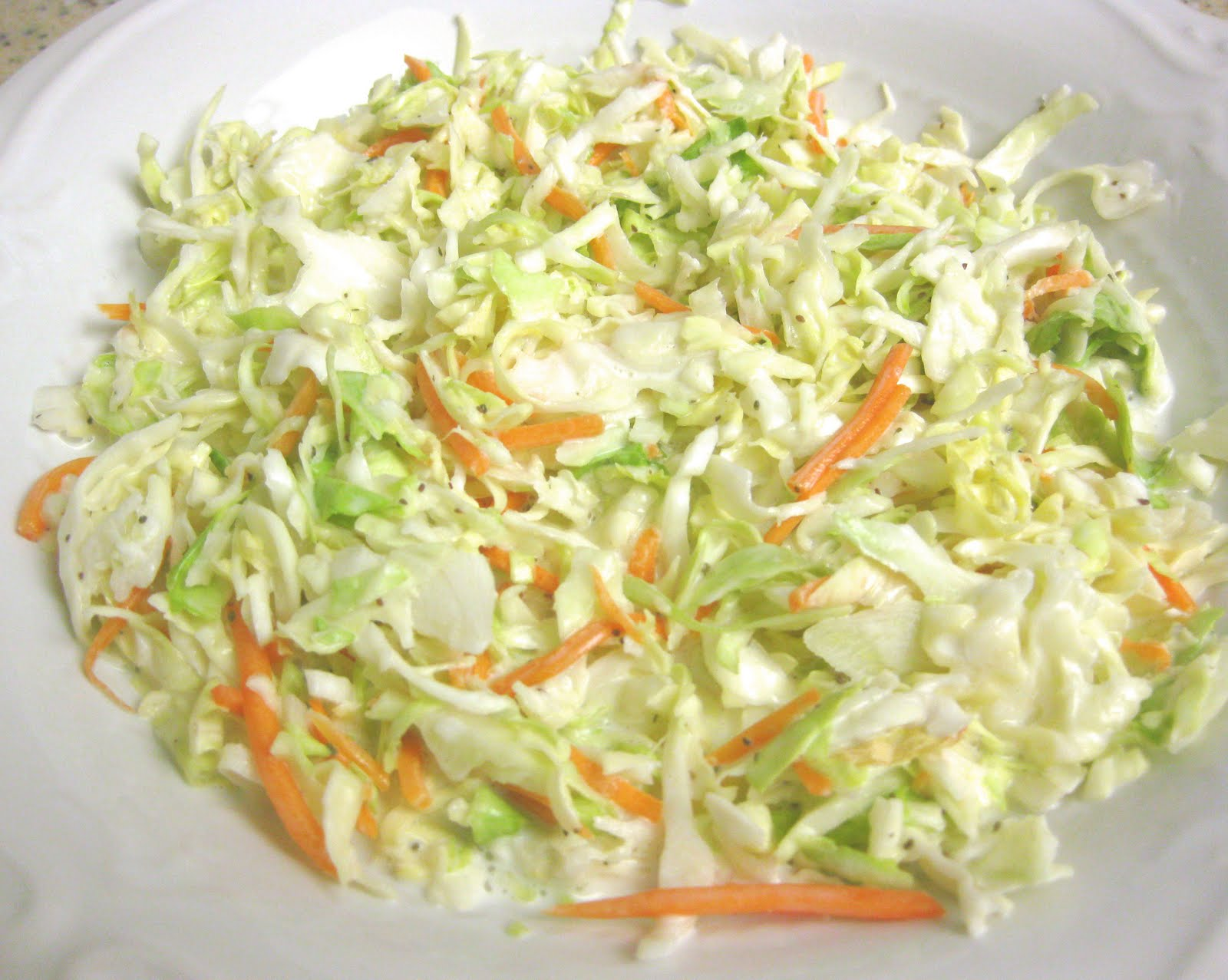 how to cut carrots to make coleslaw